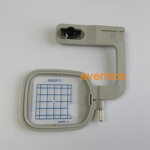 """Embroidery Hoop C 2/"""" x 2/"""" for Janome MC300E MC350E MC9500 MC9700 MC10000 10001"""