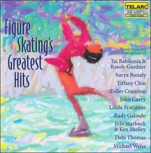 FREE US SHIP. on ANY 3+ CDs! ~Used,Very Good CD Various Artists: Figure Skating'