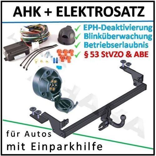 AHK ES7 Fiat Punto Bj 99-05 Anhängerkupplung DPC EPH-Deaktivierung Einparkhilfe