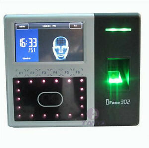 Details about iFace302 ZKsoftware biometric identification time attendance  facereader Finger