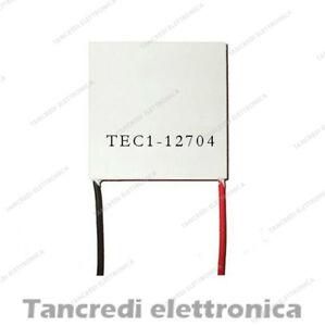 CELLA-DI-PELTIER-12V-4A-61W-TEC1-12704-CPU-COOLER-CALDO-FREDDO-FRIGO-PER-ARDUINO