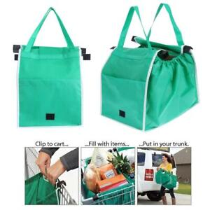 Cart Storage Foldable Eco Bag  Shopping Tote Bags Reusable Trolley Grocery