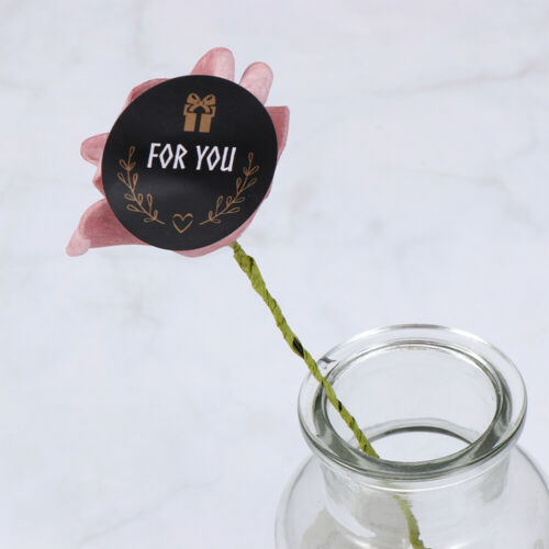 Adornment For you Gift Boxes Seal Label Festival Decoration Handmade Sticker