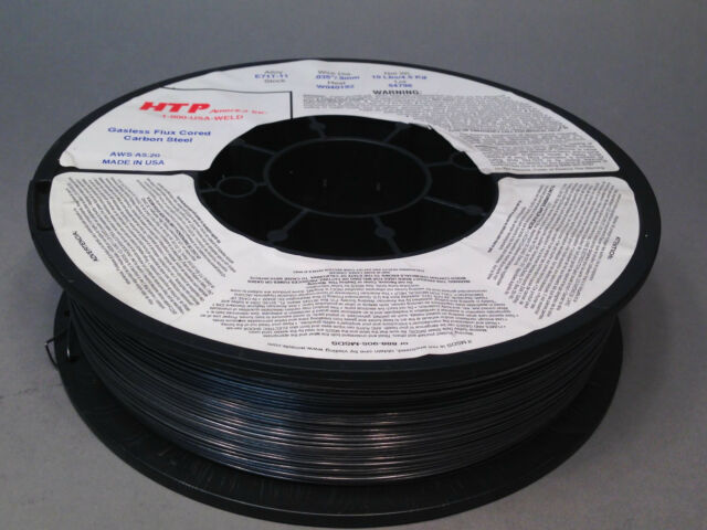 Htp Welding Wire | 10lb 035 Htp Flux Cored E71t 11 Gasless Steel Mig Wire Core Made
