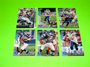 6-TORONTO-ARGONAUTS-UPPER-DECK-CFL-FOOTBALL-CARDS-22-81-82-83-84-87-1