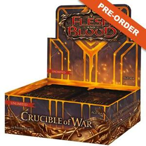 Flesh and Blood Crucible of War UNLIMITED Booster Box