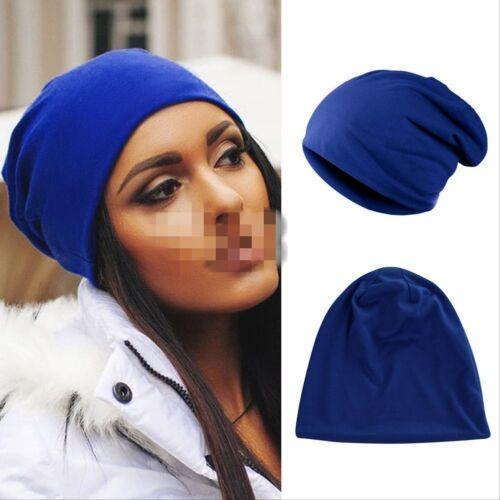 Women Men Unisex Slouch Winter Knit Hip-hop Cap Beanie Baggy Hat Ski Crochet Vy