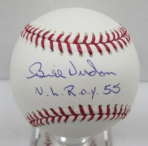 Bill Virdon Signed Baseball OML Autographed TriStar MLB Authentic BB10 25913