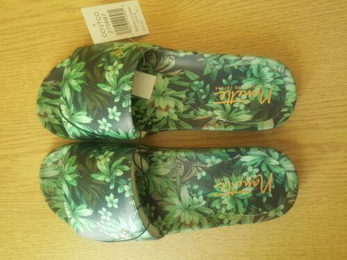 Nanette Lepore Débardeur femme vert imprimé floral Sandales Taille UK 7