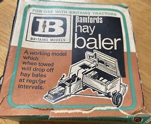 Vintage Britains No 9563 Bamfords BL58 Hay Baler. V.N.M. in original Box.