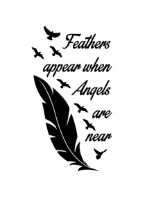 Indian Feather Vinyl Decal Sticker IF-01