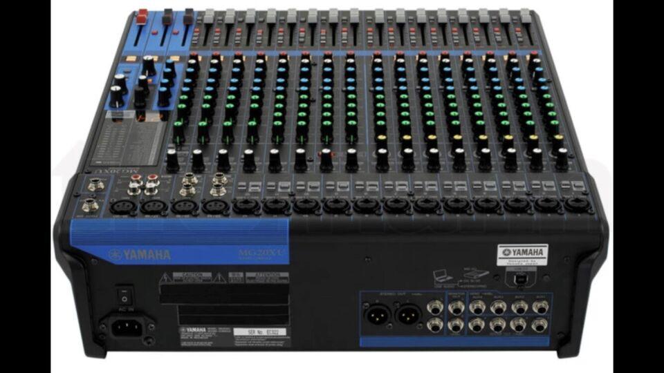 Mixer , Yamaha MG20XU