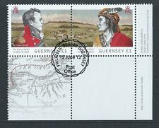 GUERNSEY 2012 WAR OF 1812 PAIR FINE USED