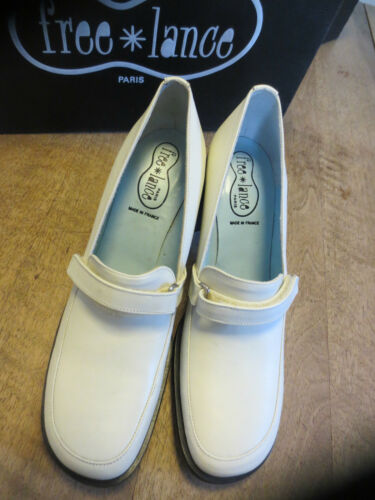 Beige 7cm Free Talon Cuir 39 Loafer Pointures Neuf 35 Lance BnB1WgPt