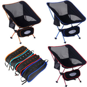 1 Pc Portable Lightweight Folding Chair Beach Seat Camping