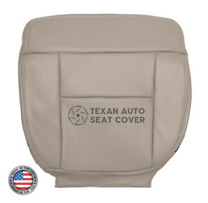2004-Ford-F150-Lariat-Passenger-Side-Bottom-Leather-Replacement-Seat-Cover-Tan