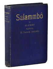 Salammbo ~ GUSTAVE FLAUBERT ~ First British Edition 1886 ~ 1st Printing