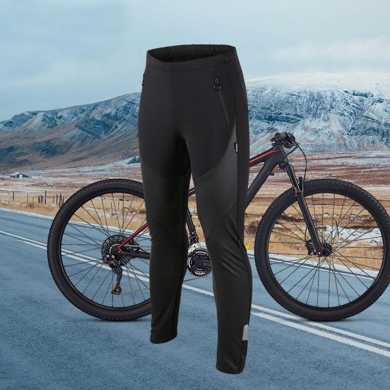 Men's Winter Cycling Pants Bicycle Riding Bike Climbing Pants Thermal M-3XL