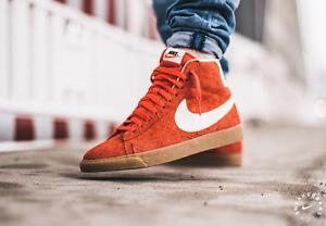 Image is loading NIKE-WMNS-BLAZER-MID-SUEDE-VNTG-518171-801-