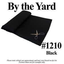 """Broadcloth Fabric 45"""" Cotton Polyester Blend - Sold by the Yard (39 Colors)"""