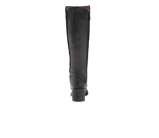Donald J Pliner Black Black Black Envy Block Heel Boots Size 7985 9M ddc6ac