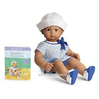 American Girl Bitty Baby Seaside Outfit For Dolls Beach Sailor Twins Book