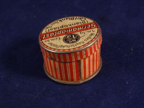 Ancienne Boîte Tôle Fer Publicité Miniature Épicerie Marchande Enfants Années 30
