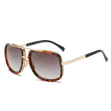 5a9e6ba3e86 item 2 Retro Fashion Aviator Sunglasses Black White Brown Men Women Vintage  Glasses -Retro Fashion Aviator Sunglasses Black White Brown Men Women  Vintage ...