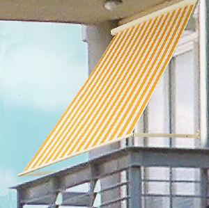 Tende A Rullo Da Sole.Dettagli Su Tenda Da Sole A Rullo Avvolgibile Per Balcone Terrazzo Esterno Cm 120x200 24893