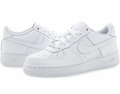 exposición erección toxicidad  Nib Big Kids Size 5 NIKE AIR FORCE 1 Low Top Basketball Shoes White  314192-117 | eBay