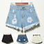 UK-Vintage-Ripped-Womens-High-Waist-Stonewash-Denim-Shorts-Jeans-Hot-Pants-6-22 thumbnail 5