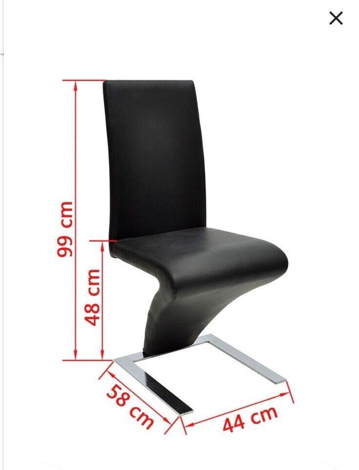 Spisebordsstol, Kunstlæder