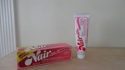 Shaving & Hair Removal Vintage Original Logo Nair Cream Hair Remover~2 Oz.~original Box~nos~free Ship Orders Are Welcome. Shaving Creams, Foams & Gels