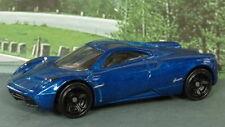 PAGANI HUAYRA 1:64 (Dark Blue) Hot Wheels MIP Passenger Diecast Sports Car