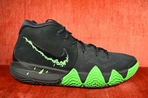 watch 11d9d f8699 Details about WORN TWICE Nike Kyrie 4 Black Halloween Green Rage Size 11  943806-012