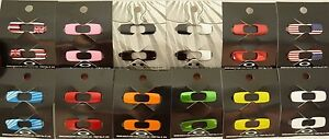 5dbf36a05d975 Image is loading OAKLEY-BATWOLF-ICONS -INTERCHANGEABLE-chrome-diamond-red-orange-