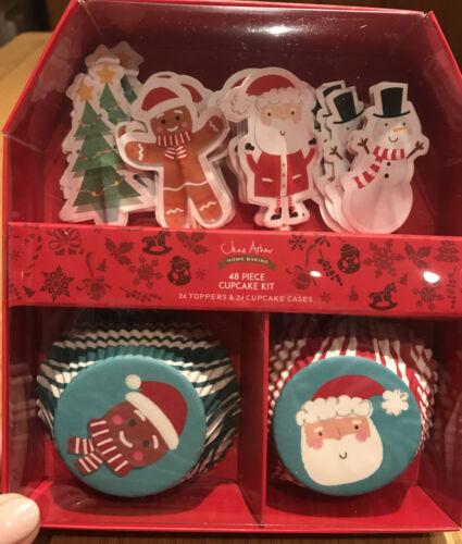 Jane Asher 48 Piece Christmas Cupcake Kit