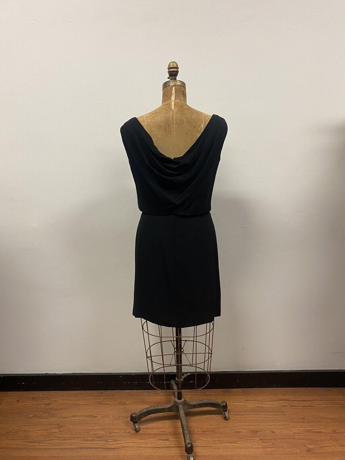 Vintage 1950's SUZY PERETTE Black Cocktail Dress,… - image 6
