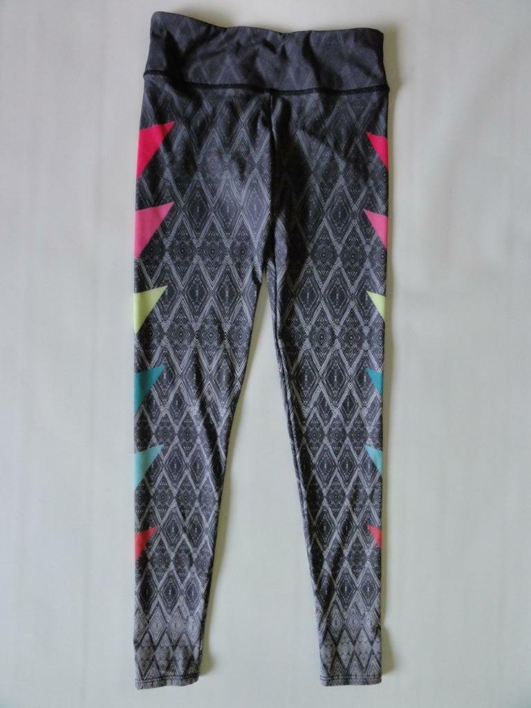 ONZIE GRAPHIC LEGGING, Dark grey multi (Spop), Sizes S M, M L, MSRP