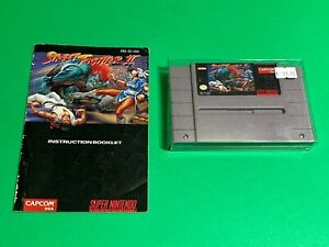 WORKING-SUPER-NINTENDO-SNES-GAME-Capcom-STREET-FIGHTER-2-MANUAL