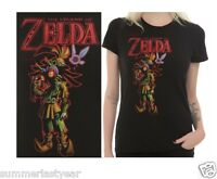 The Legend Of Zelda: majoras Mask Nintendo Juniors Fitted T-shirt Free Ship