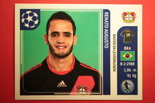 PANINI CHAMPIONS LEAGUE 2011/12 N 322 AUGUSTO LEVERKUSEN WITH BACK BACK MINT!!
