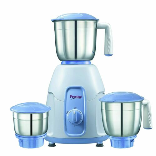 Prestige Stylo 550 W Mixer Grinder with 3 Stainless Steel Jar Popular UK Plug
