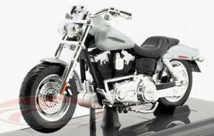 HARLEY-DAVIDSON-2009-FXDFSE-CVO-Fat-Bob-1-18-Model-Toy-Bike-Miniature-Motorbike