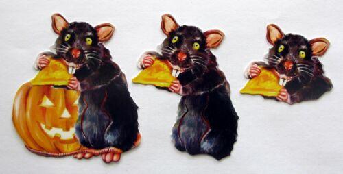 3D Easy Die Cut Card Topper HALLOWEEN 5 Designs Glitter Type 1 Owl Bat Skull