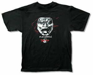 300-Movie-Immortal-Mask-Black-T-Shirt-New-Official-Adult