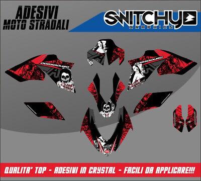 Kit adesivi Decal stikers Aprilia DORSODURO Tribute Geben Sie Model A oder B
