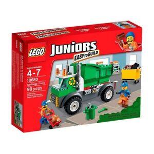 Lego 10680 Juniors - Garbage Truck Nouveau