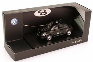 1:43 Vw Coccinelle 2011 Noir Noir Motif Billard Eight Ball - Dealer-edition