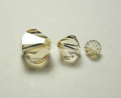 New Genuine Swarovski Rose Bicone #5301Crystal Beads 4 8mm Jewellery 6